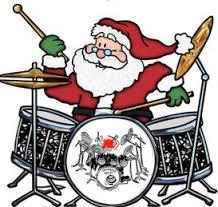 Santa Drummer