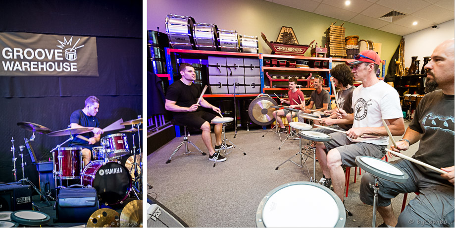 Troy Wright Drum Clinic Image
