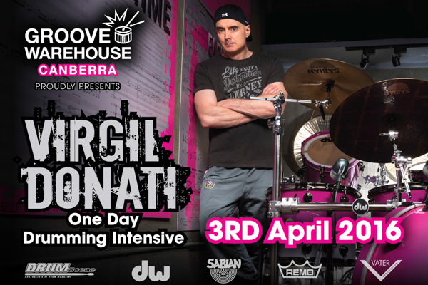 Virgil Donati's One Day Drumming Intensive